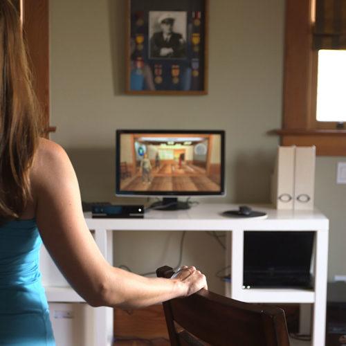 Kamera hilft Patienten mit multipler Sklerose