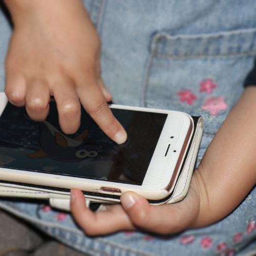 Smartphone sagt nein zu Kinderhänden