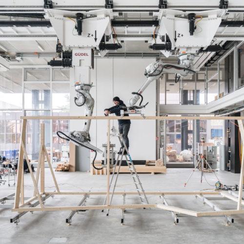 Roboter revolutionieren das Bauen mit Holz