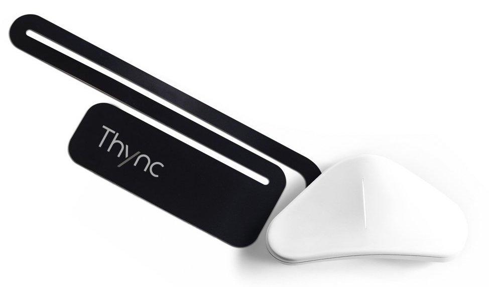 Gehirnstimulator der Firma Thynk auf weissem Hintergrund