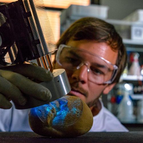 Bakterien und Viren mit UV-Licht aus LEDs bekämpfen