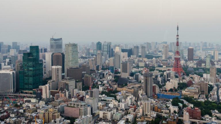 Der Stadtteil Minato Ward in Tokio.