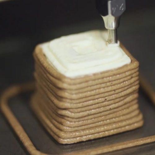 Von Essen aus dem 3D-Drucker und Foodporn