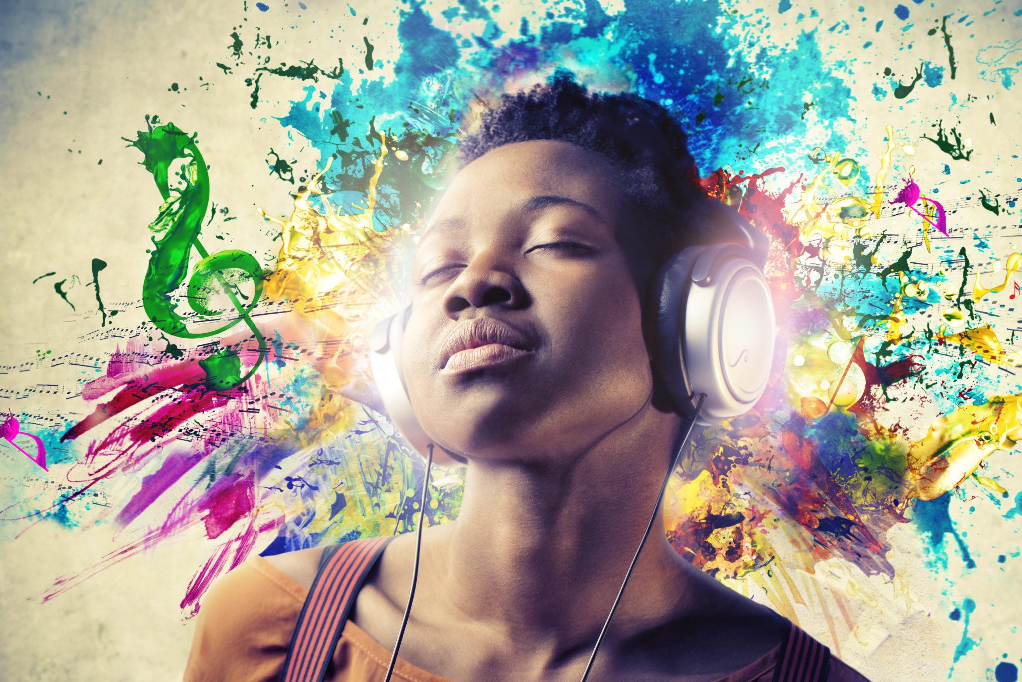 Bei Synästhetikern vermischen sich die Sinne. Zum Beispiel nehmen sie Töne auch als Farben wahr.