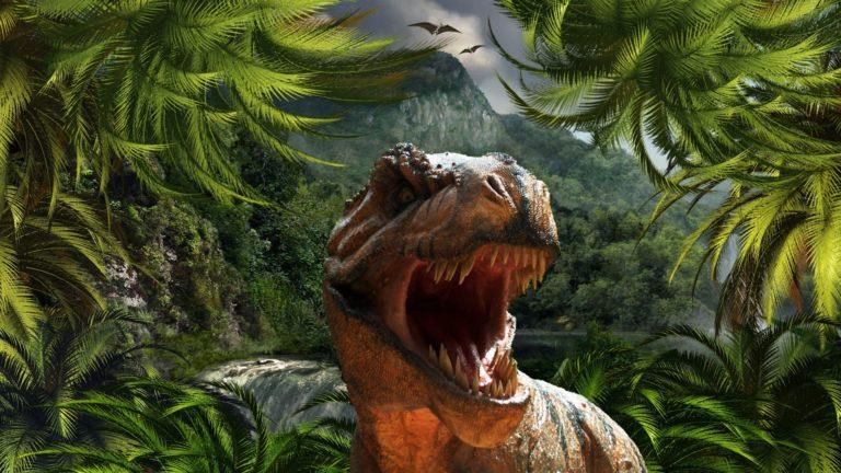 Der Tyrannosaurus Rex: Wie viele andere Dinosaurier hatte er eine sehr unbewegliche Zunge.
