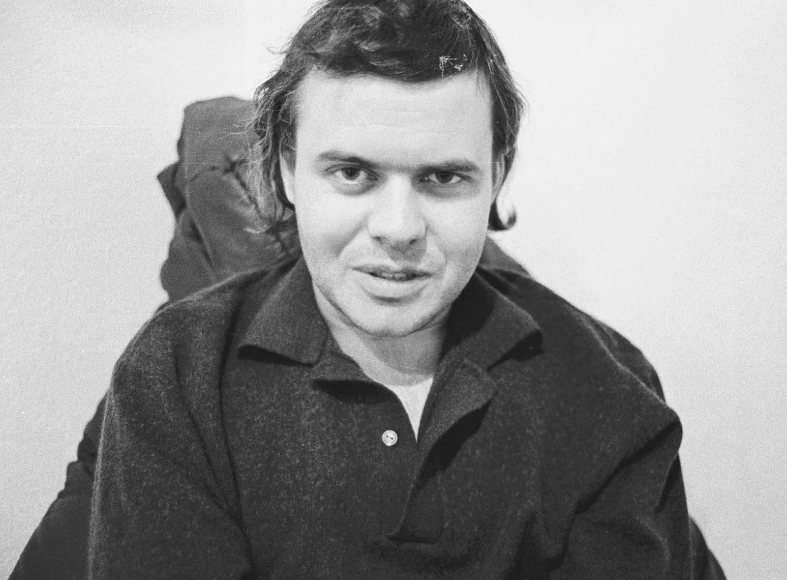 HR Giger, der Grossmeister des Leinwandhorrors, circa 1985.