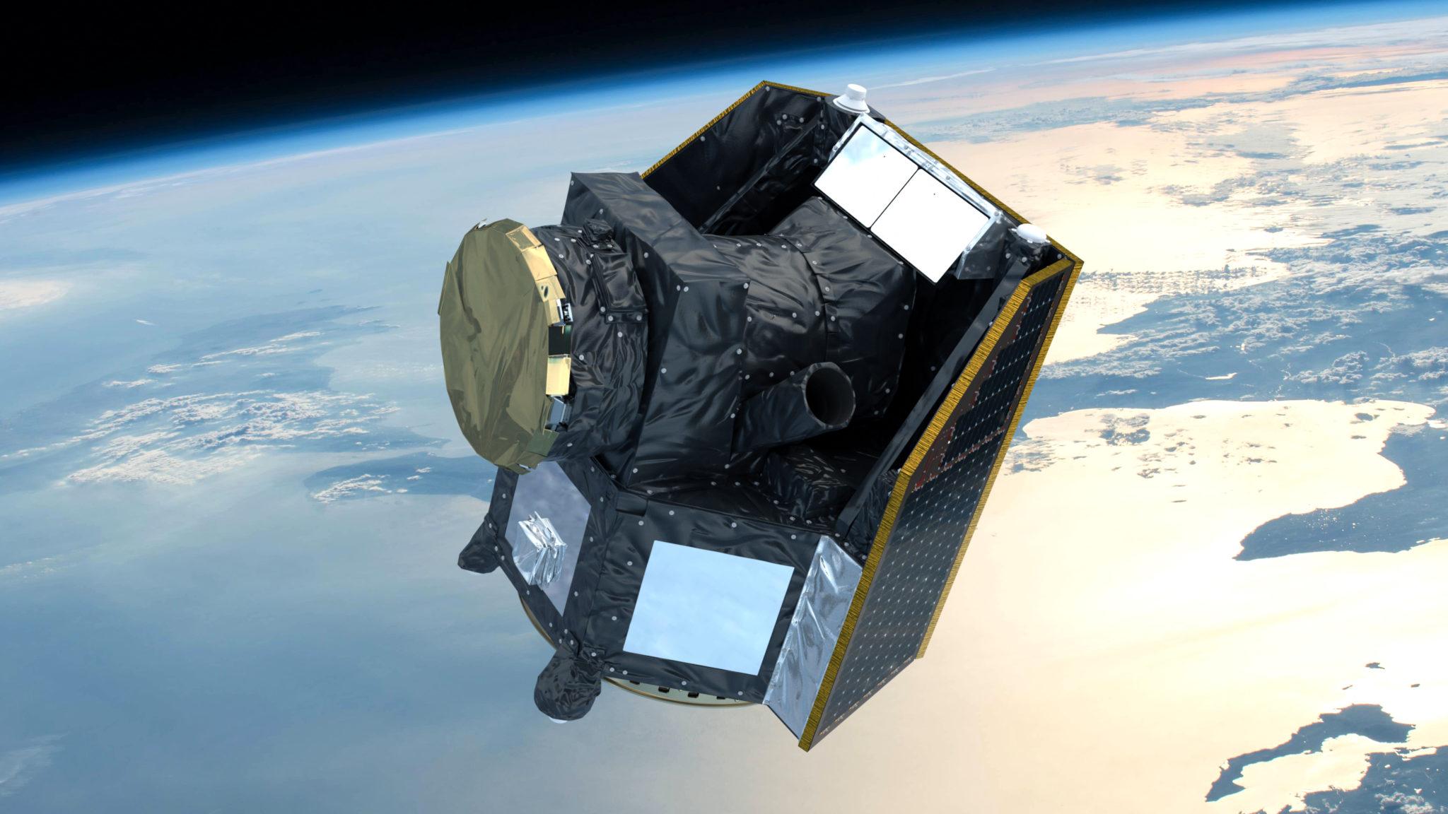 Der Satellit Cheops soll ab Mitte 2019 um die Erde kreisen und von dort aus ferne Planeten vermessen.