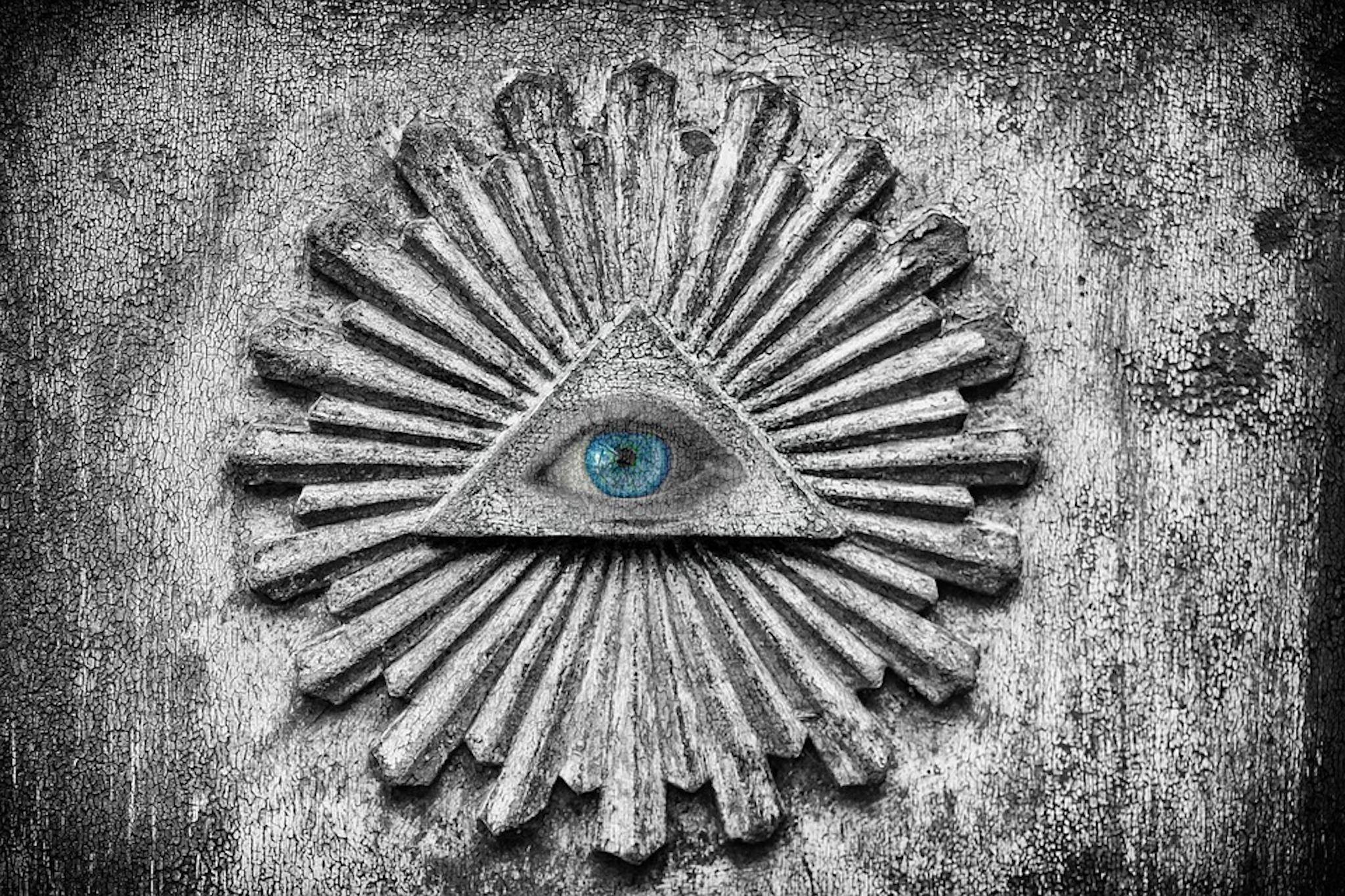 Alles unter Kontrolle: Das «Auge der Vorsehung» bringen Verschwörungstheoretiker gerne mit Geheimbünden in Verbindung.