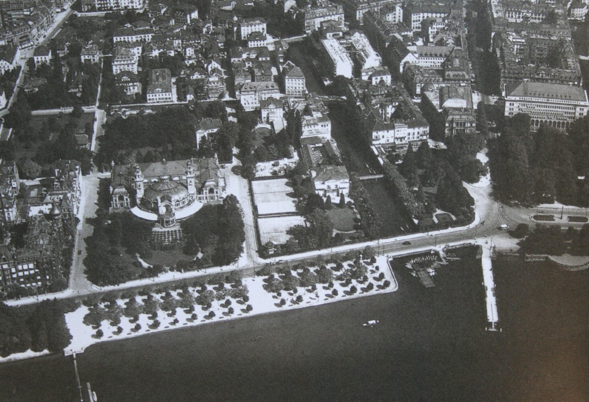 Alpenquai in Zürich, 1929.