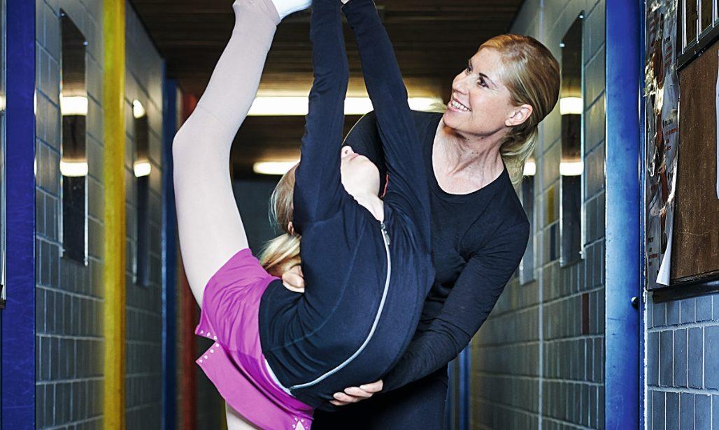 Denise Biellmann betreut heute junge Talente.
