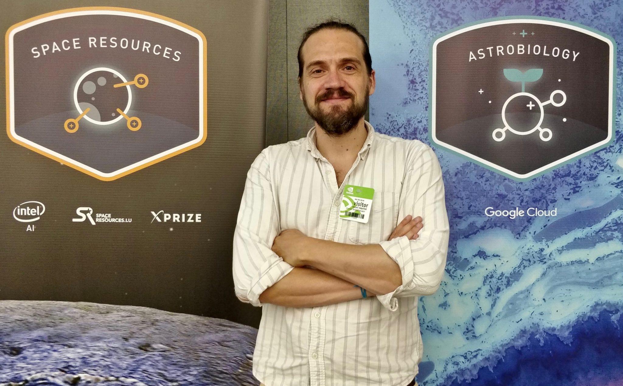 Daniel Angerhausen, früher Nasa-Forscher, jetzt Astrophysiker an der Universität Bern.