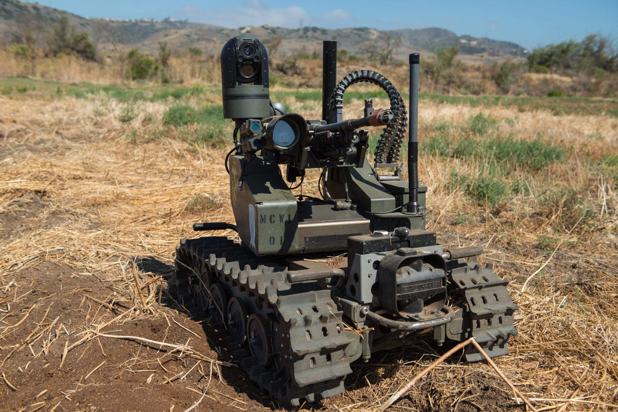 Das «Modular Advanced Armed Robotic System», kurz Maars. Ein Roboter, der ferngesteuert, aber auch eigenständig operieren kann.