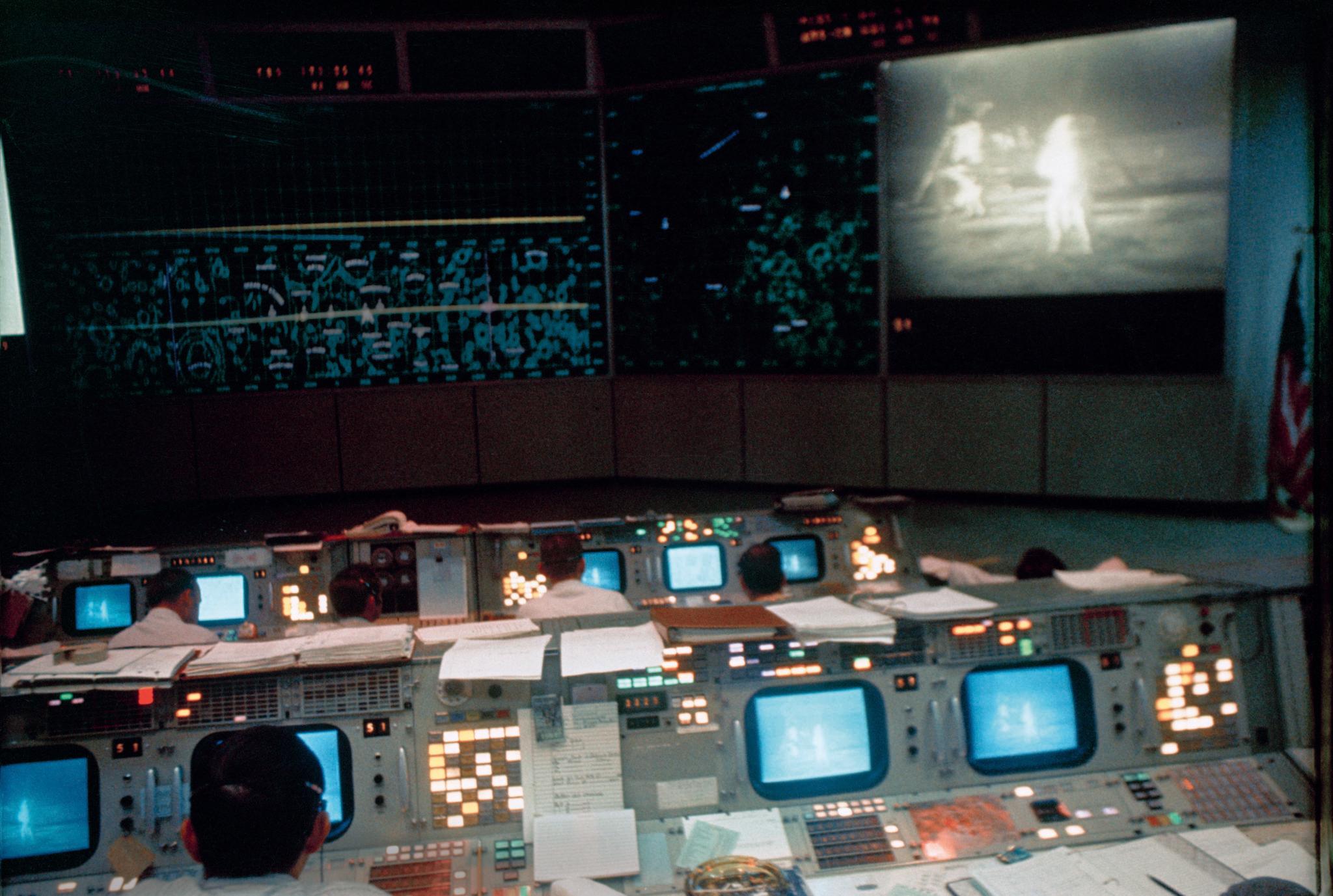 NASA-Missionskontrollzentrum