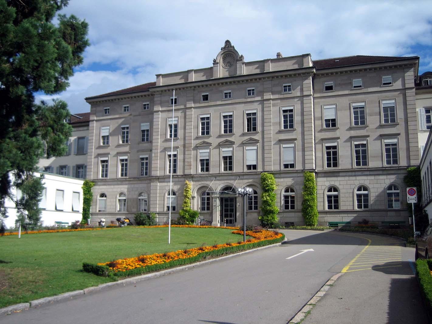 Die Psychiatrische Universitätsklinik Zürich, im Volksmund Burghölzli genannt.