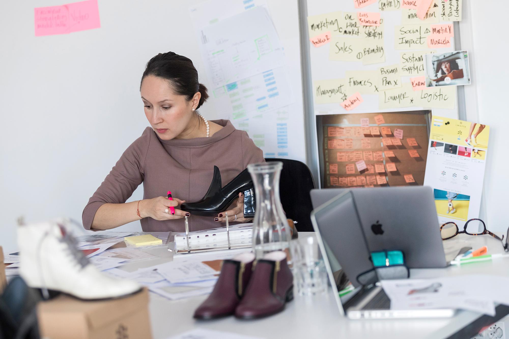 «By Maria»-Entwicklerin Catalina Jossen Cardozo: «Der Endkunde soll hochwertige Produkte erhalten.»