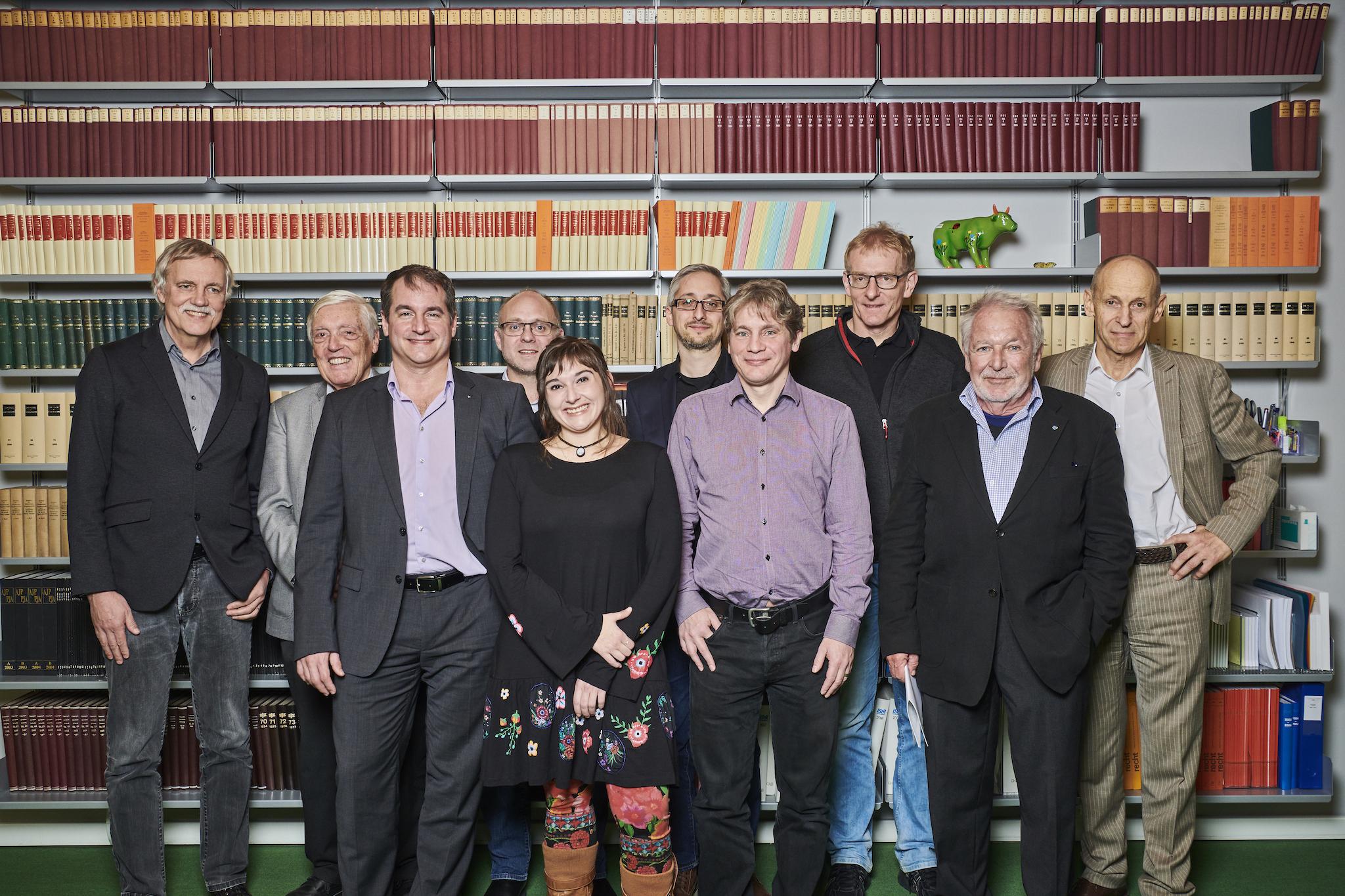 Gruppenfoto der Gründer