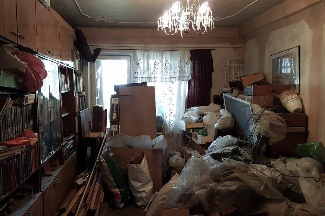 Wohnungen von Menschen mit Messie-Syndrom sind im Extremfall kaum mehr begehbar.