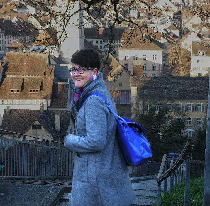 Wie jeden Morgen erfreue ich mich auch heute am Blick auf den Munot und die Schaffhauser Altstadt.