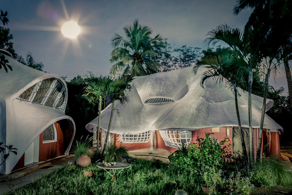 Die Schlumpfhäuser von Auroville.