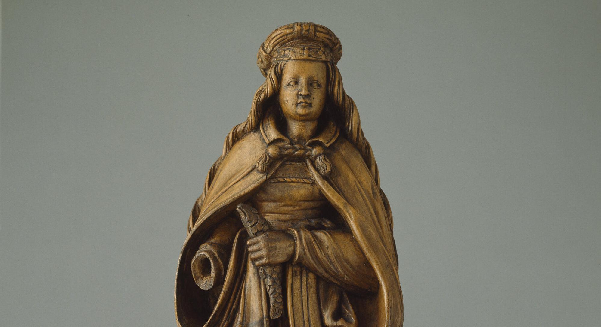 Skulptur der Heiligen Verena von Zurzach.