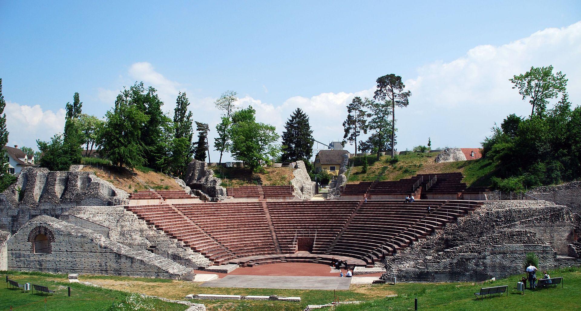 Amphitheater in Augusta Raurica