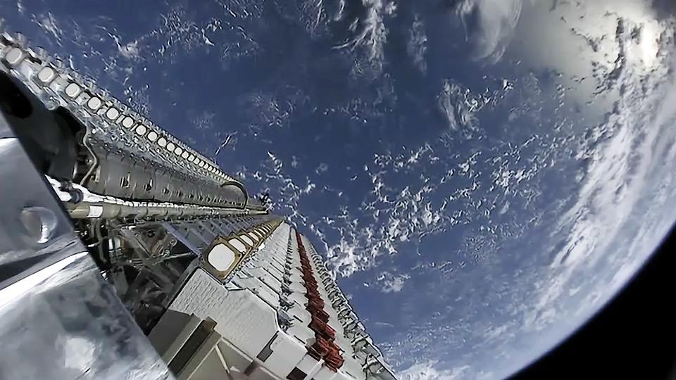 SpaceX-Satellit