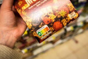 Ernährungsampel auf Müsli-Packung