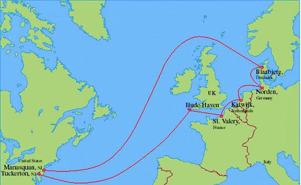 Zweimal über den Atlantik: TAT-14.
