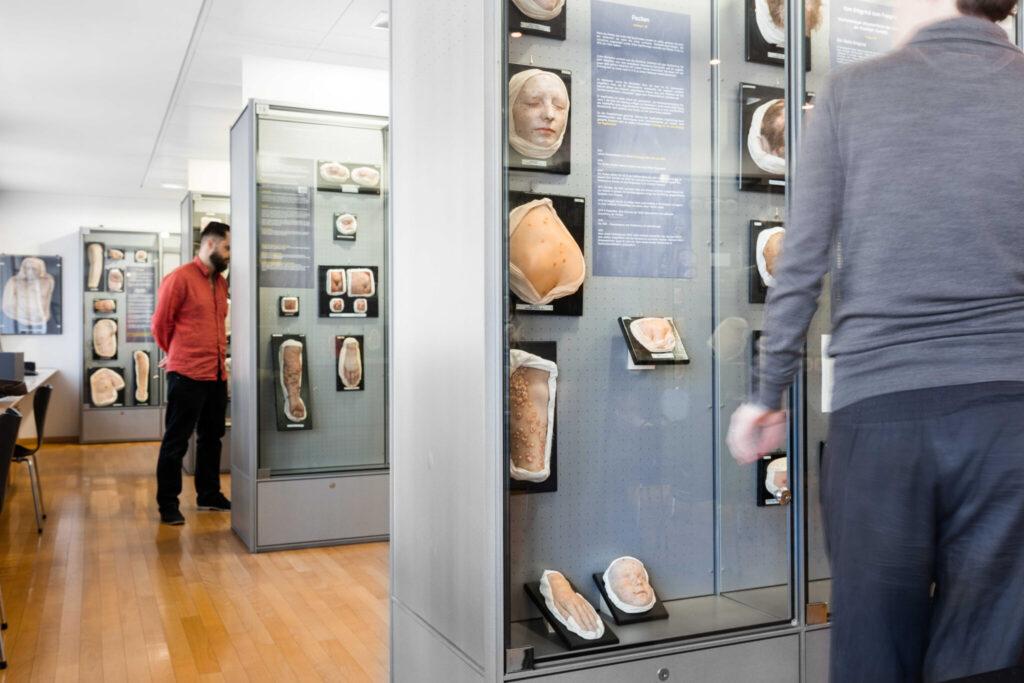 Moulagenmuseum heute: Die Ausstellung zeigt in Zürich hergestellte Nachbildungen von Haut- und Geschlechtskrankheiten in Lebensgrösse.