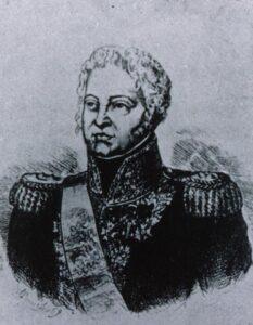 Darstellung von Balthasar von Schauenburg.