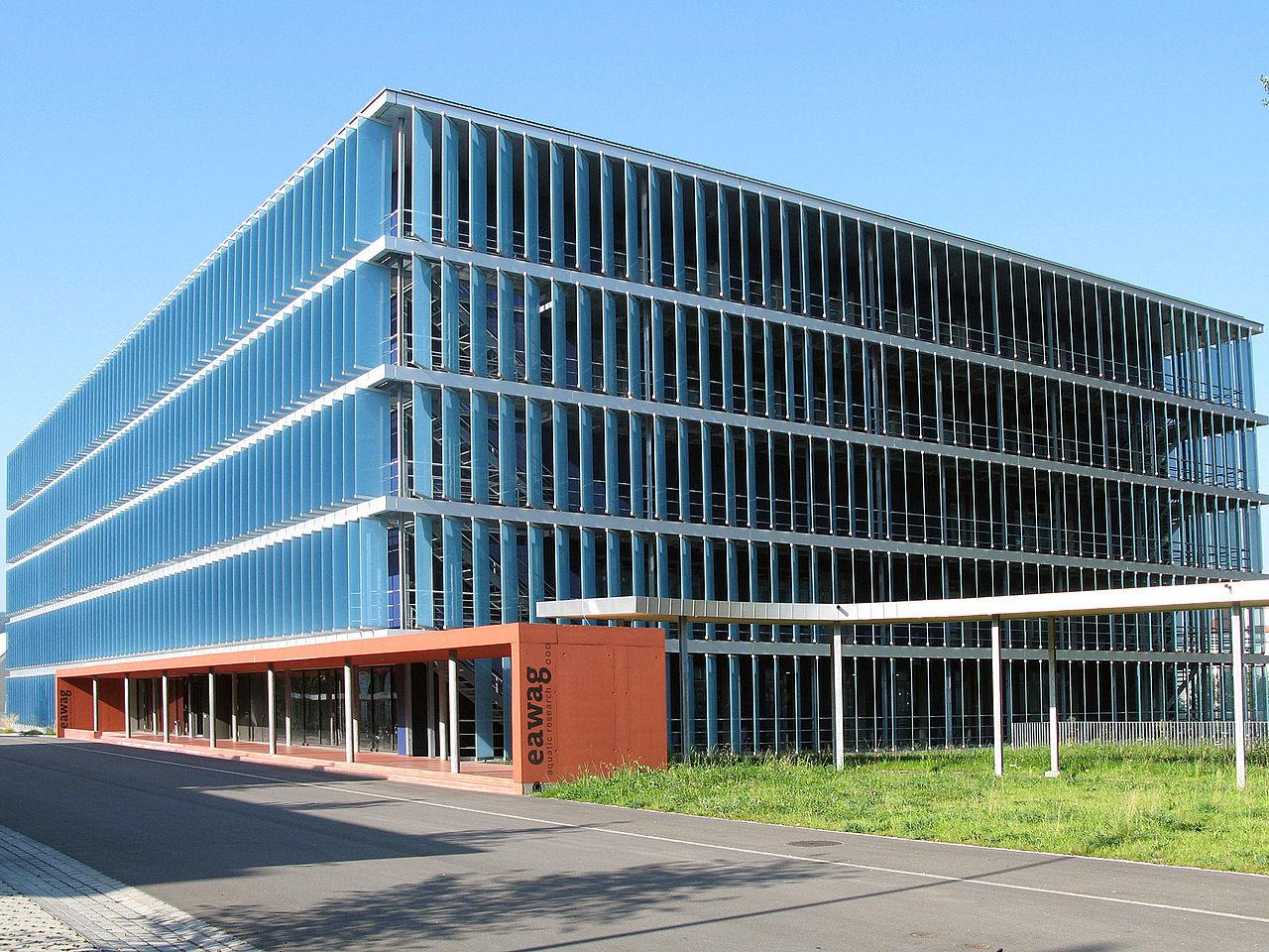 Hauptgebäude der Eawag