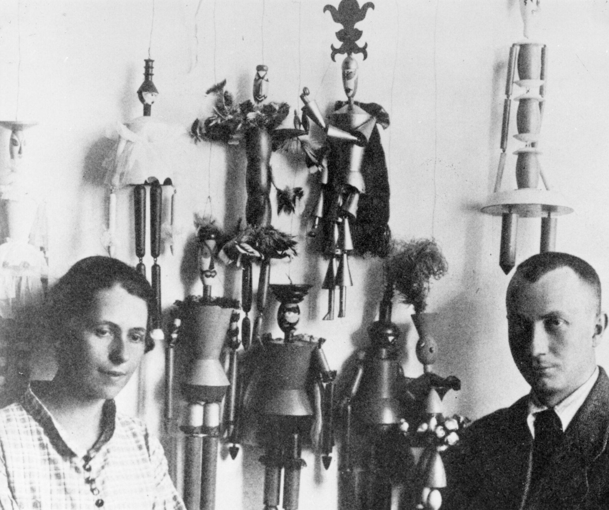 Sophie Täuber-Arp und Hans Arp