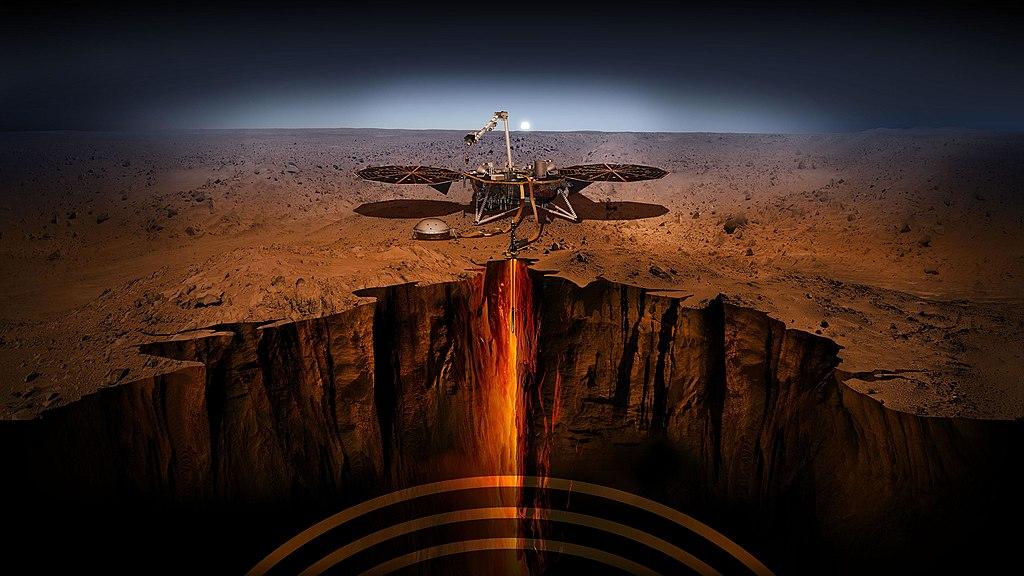 Geophysikalische Instrumente auf dem Mars