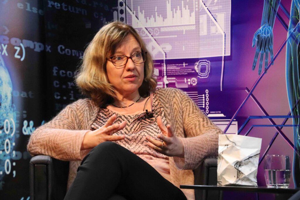 Dorothea Wiesmann bei Wissenschaft Persönlich