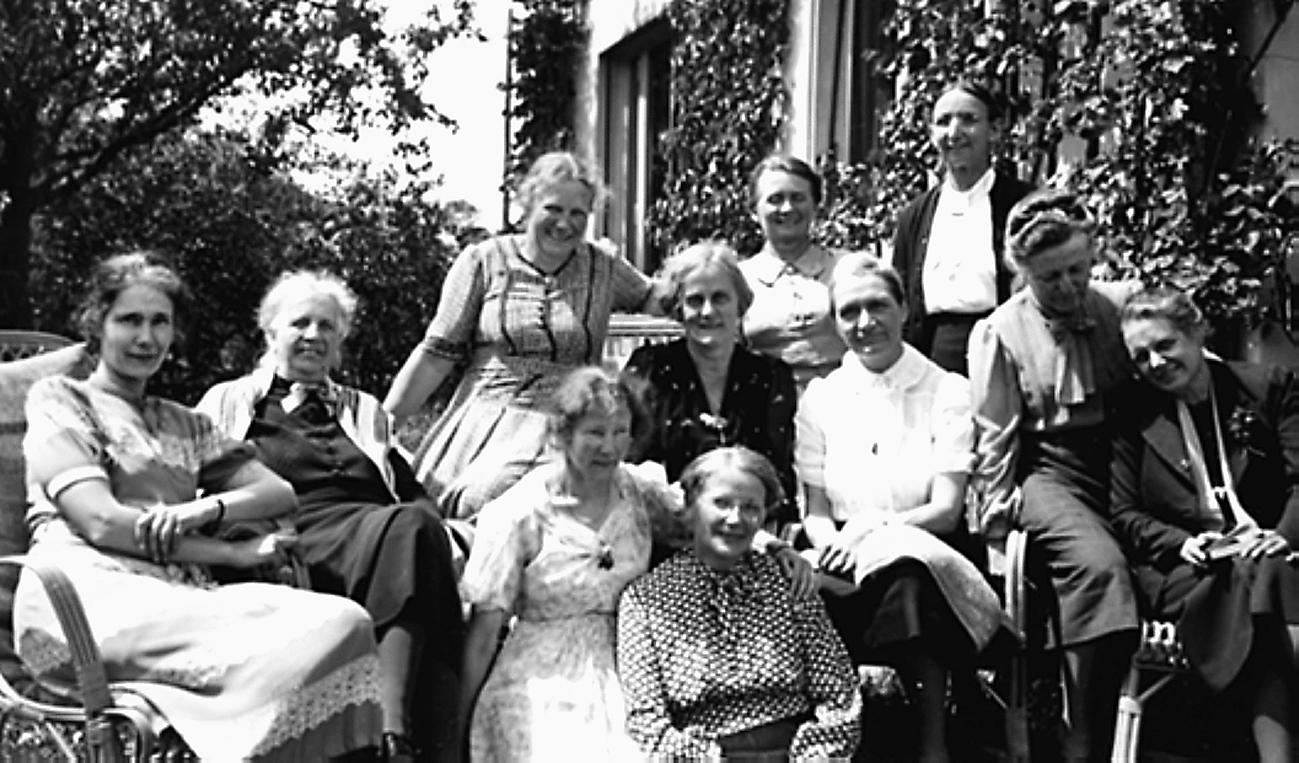 Gruppenfoto Vorstandsfrauen BSF 1941;