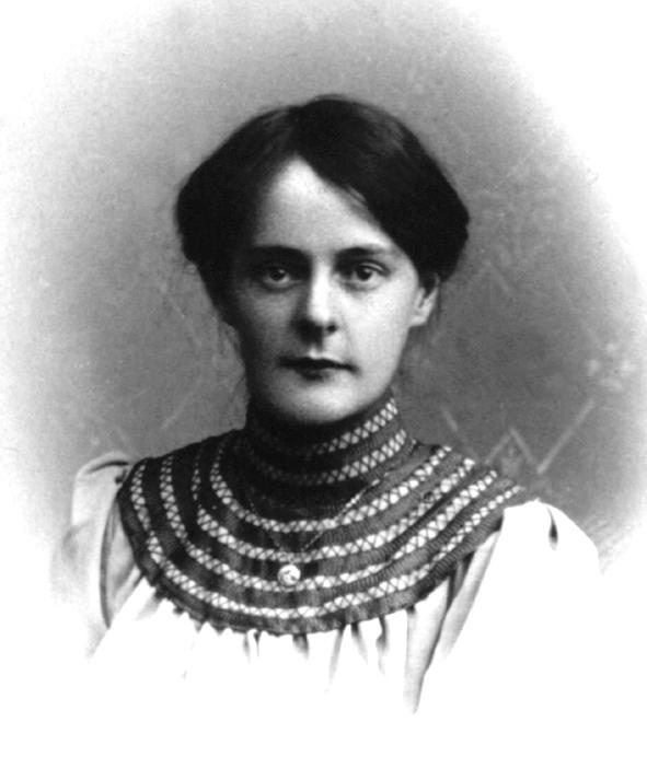 Portrait der jungen Clara Nef