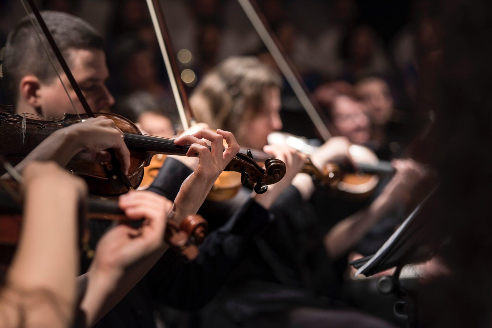 Ein Streichorchester
