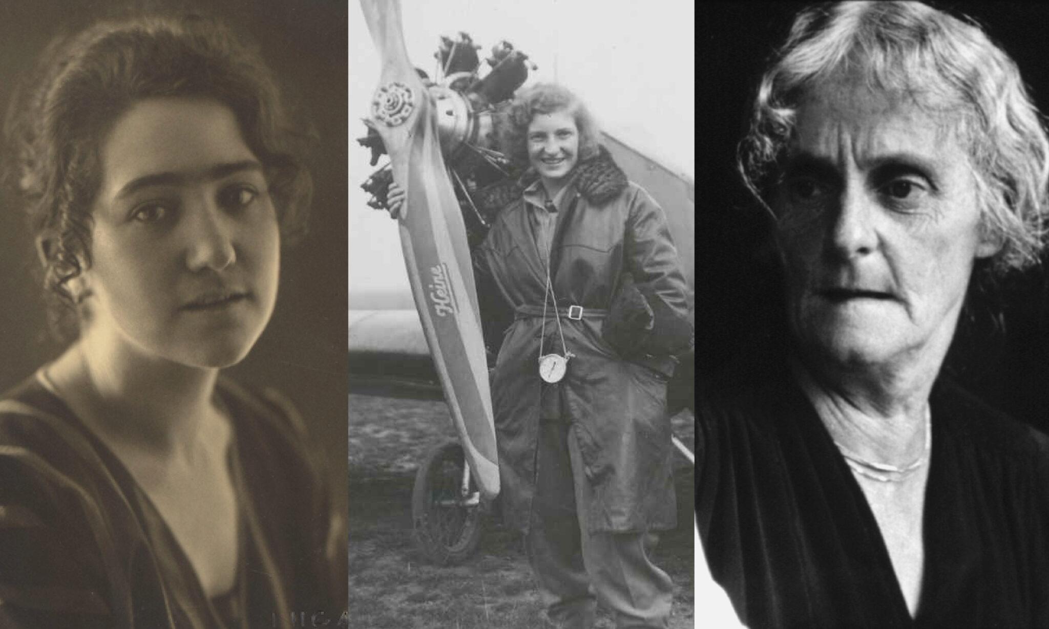 Dora Roeder, Margret Fusbahn und Clara Nef als Collage