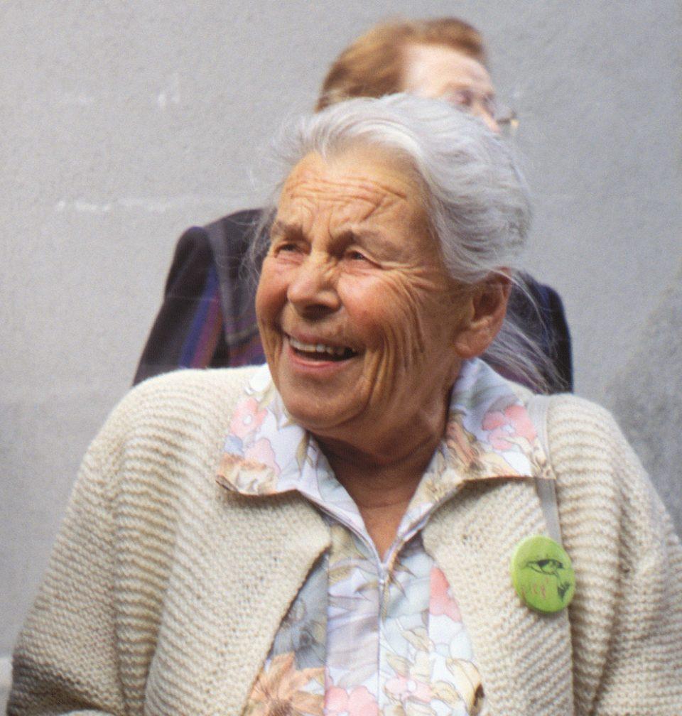 Elisabeth Pletscher im Jahr 1995