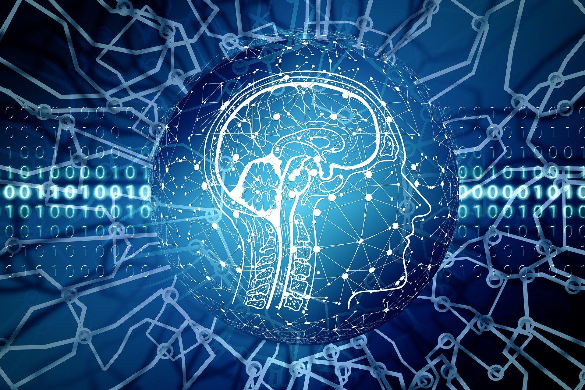 künstliche Intelligenz visualisiert