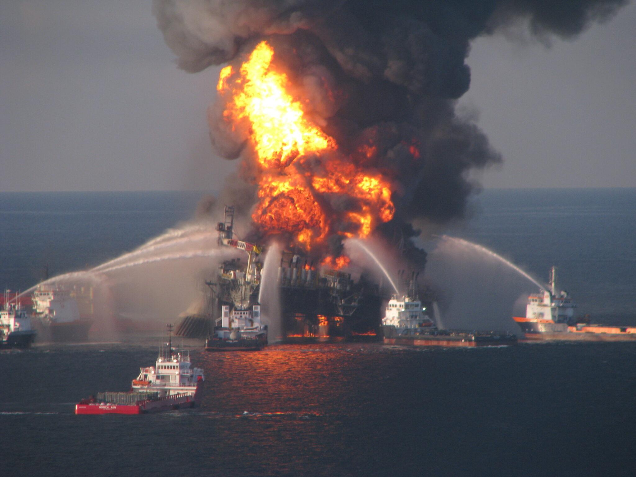 Explosion von Deepwater Horizon