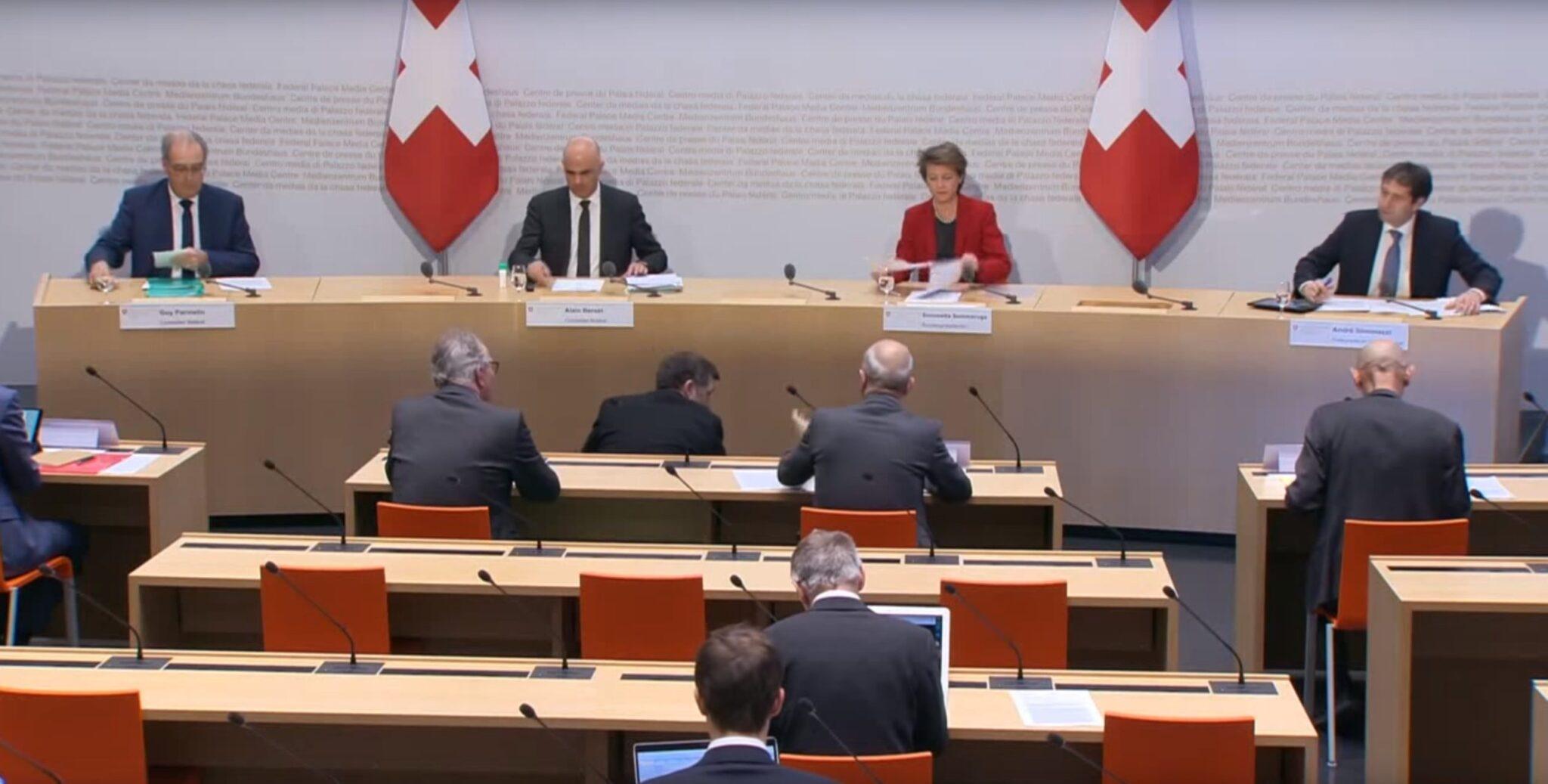 Der Schweizerische Bundesrat