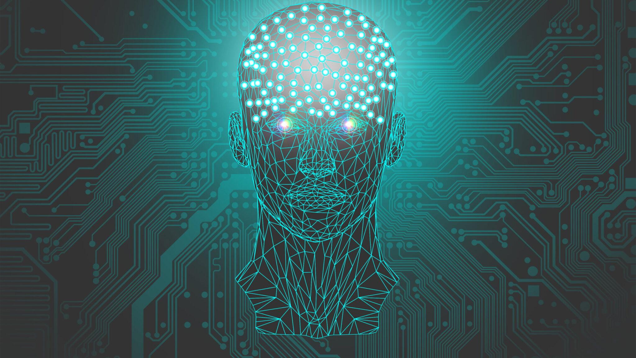 Illustration zum Thema Künstliche Intelligenz
