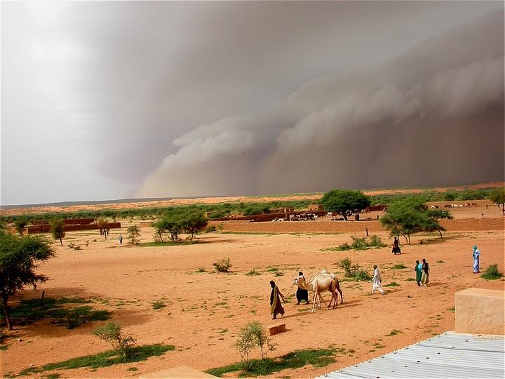 Sandsturm in Mali