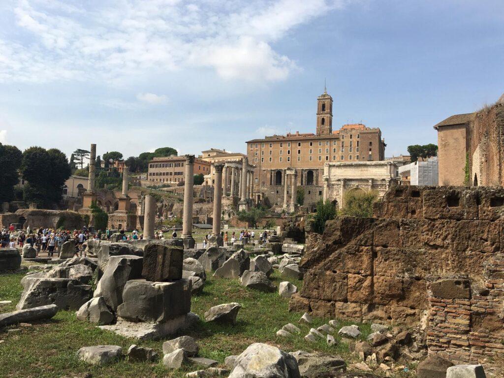Ruine des Forum Romanum