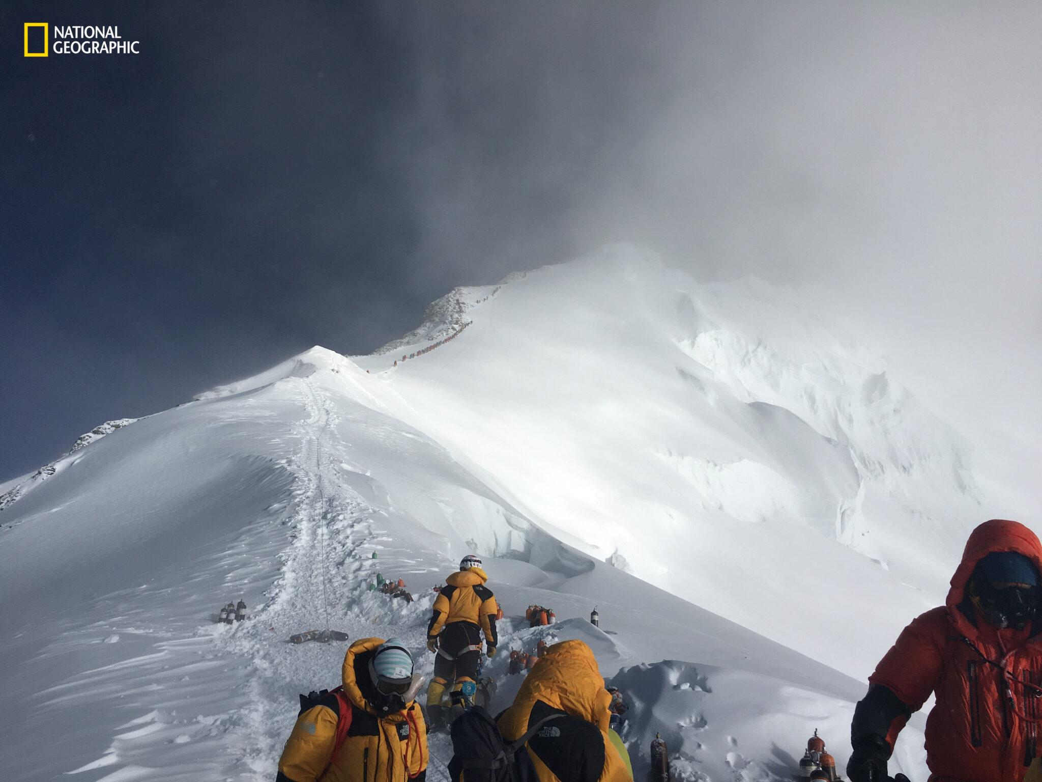Expedition auf dem Mount Everest