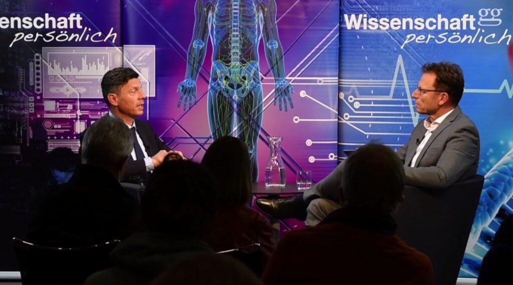 Jens Gaab und Beat Glogger bei Wissenschaft Persönlich