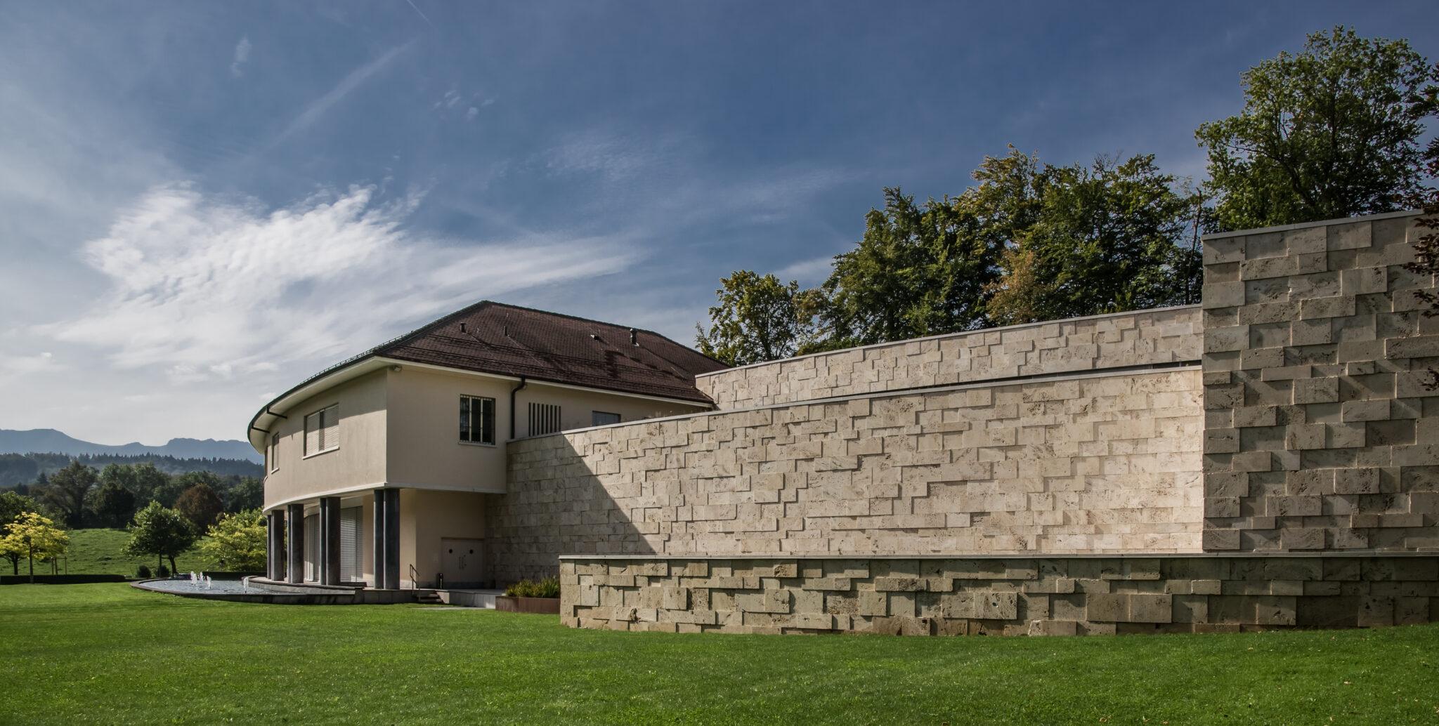 Gebäude der Abegg-Stiftung