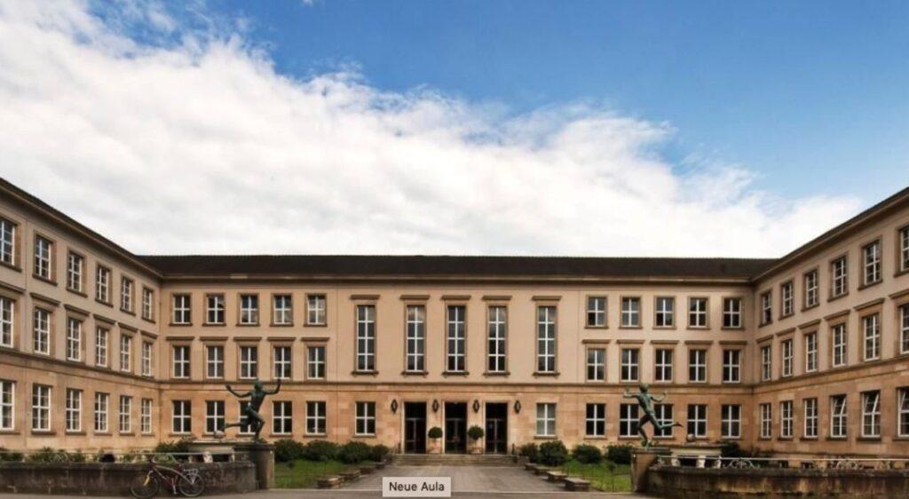 Ein Gebäude der Uni Tübingen.